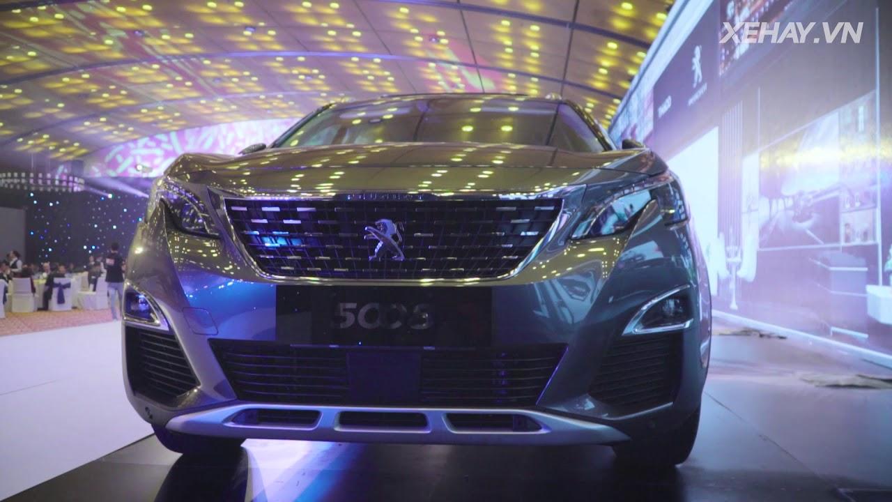 Chi tiết bộ đôi Peugeot 3008 và 5008 hoàn toàn mới ra mắt tại Việt Nam |XEHAY.VN|