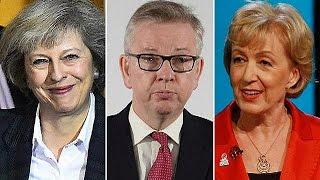 Succession de David Cameron : plus que 3 candidats en course