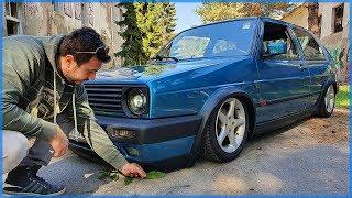 VW GOLF MK2 1.8 TURBO SADA IMA I ZRACNI OVJES!