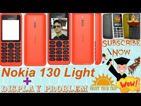 Nokia 1035 Rm display light jumper + White display solution - Pranto Roy