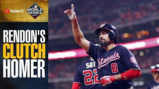 Nationals' Anthony Rendon extends lead with CLUTCH home run in World Series Game 6