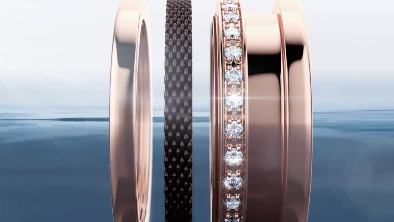 Bering Combination Rings