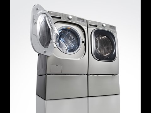 Lg Wm8000hva Washing Machine Youtube