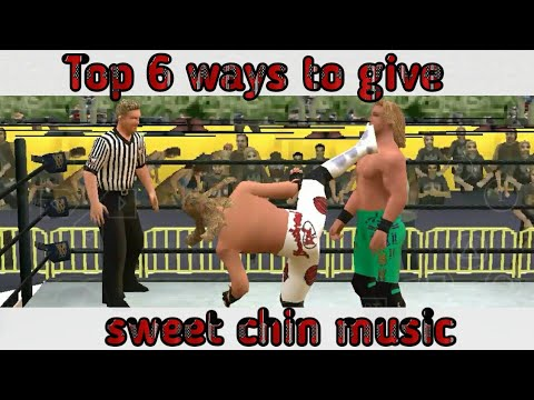 TOP 6 WAYS TO GIVE SWEET CHIN MUSIC || PPSSPP || ANDROID