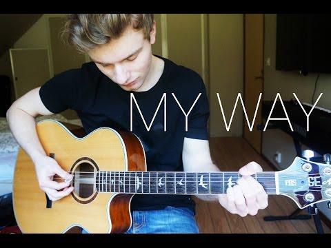 Calvin Harris - My Way - Guitar Cover (Instrumental) | Mattias Krantz