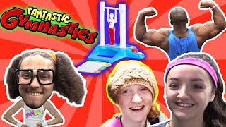 FANTASTIC GYMNASTICS BODY BUILDING CHALLENGE!!  FAILS!!!