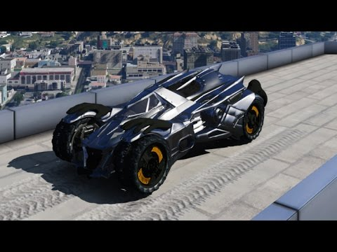 GTA 5 Mods Batman Arkham Knight Batmobile Video 2