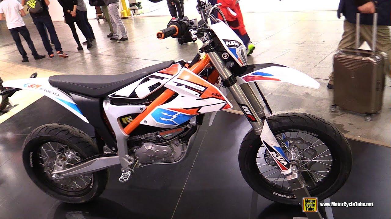 Ktm Freeride E Sm >> 2016 KTM E-SM Freeride Electric Bike - Walkaround - 2015 EICMA Milan - YouTube