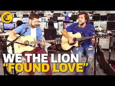 We the Lion - Found Love /// Sesión #ArteEnElComercio