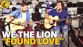 We the Lion - Found Love /// Sesión #ArteEnElComercio