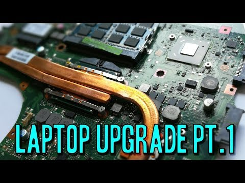 How To Upgrade Your Laptop PT 1 - Asus K55VD