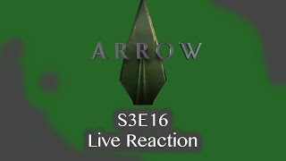 LIVE Arrow  Season 3 Episode 16 Reactions