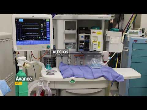 GE Anesthesia Machine Check