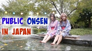 TRYING OUT JAPANESE ONSEN FOR THE FIRST TIME | Sunnydahye