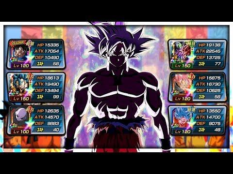 *NEW* 100% MASTERED ULTRA INSTINCT GOKU SHOWCASE! LIMITLESS POWER! | Dragon Ball Z Dokkan Battle