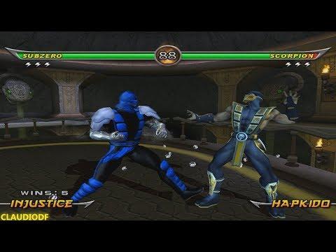 Mortal Kombat Armageddon Sub-Zero (INJUSTICE 2) - (VERY HARD) - (WII)【TAS】