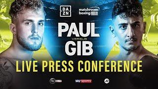 LIVE 🥊 Jake Paul vs. AnEsonGib Press Conference