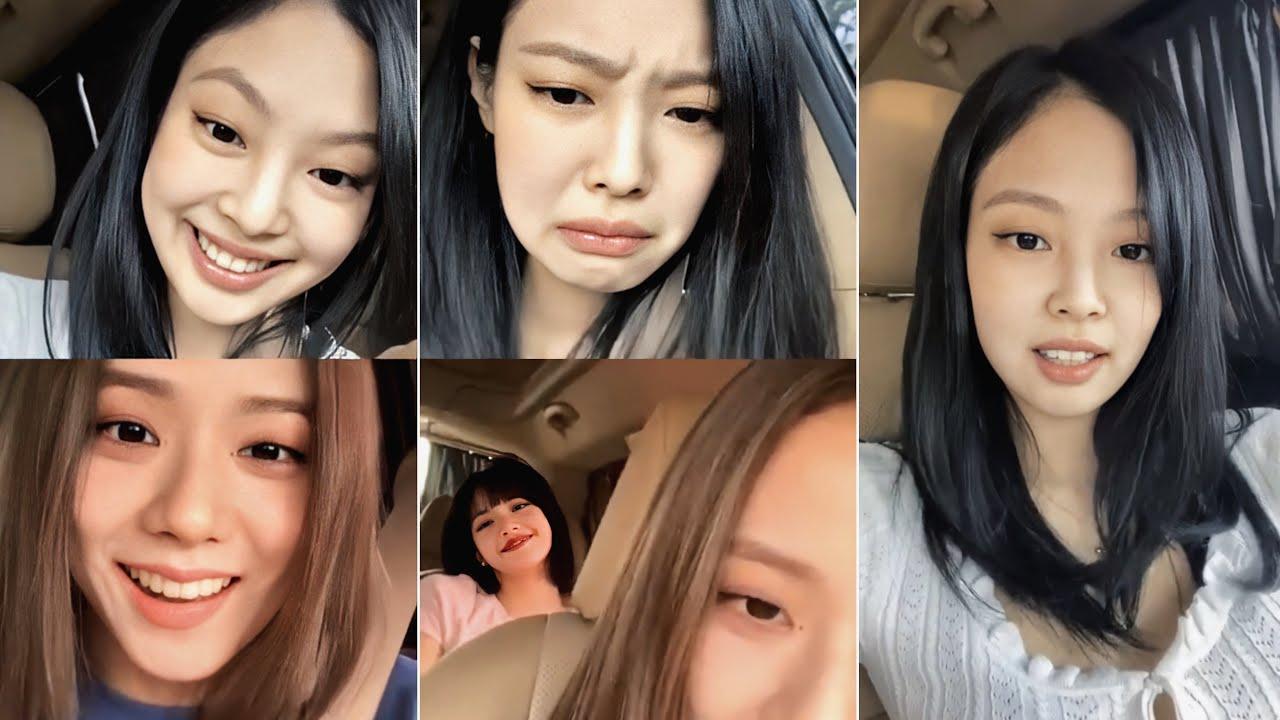BLACKPINK JENNIE Instagram Live w/ JISOO and LISA | July 5th, 2020