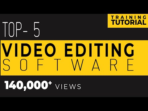 TOP 5 | WEDDING VIDEO EDITING SOFTWARE in INDIA 2017