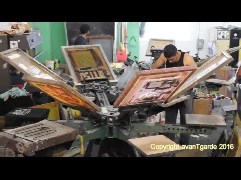 avantgarde screenprinting