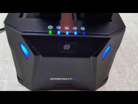 Sabrent Model EC-HD2B Computer Hard Drive Docking Station