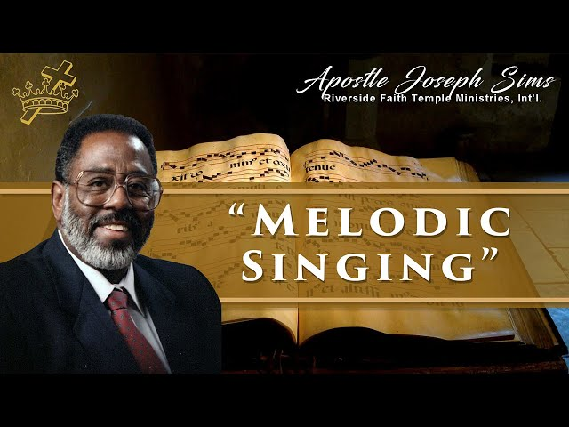 Audio Sermon - Melodic Singing (Psalm)