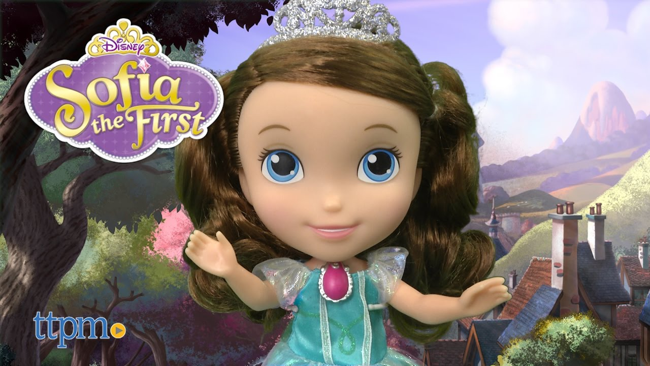 sofia the first princess sofia doll from just play youtube