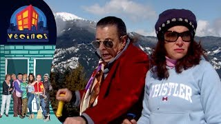 Vecinos, capítulo 39: Los Rivers en Canada | Temporada 1 | Distrito Comedia