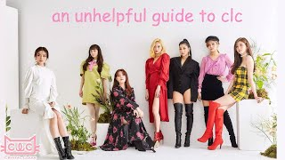 an unhelpful guide to clc (2019)