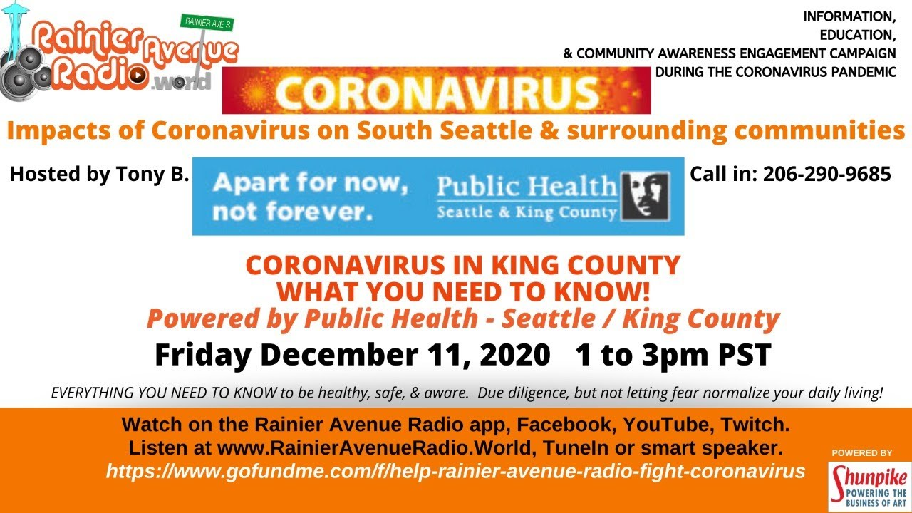 #Coronavirus in #Seattle #KingCounty: What you NEED to know! by Public Health - Seattle King County