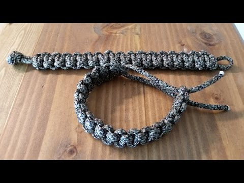 Tactical Survival Paracord Bracelet Easy Diy Youtube