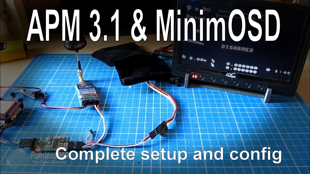 maxresdefault apm mini 3 1 adding an osd for fpv using minimosd complete  at gsmportal.co