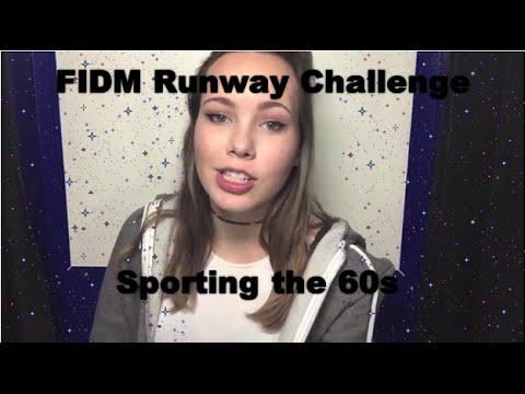 FIDM Runway Challenge 2015: Sporting the 60s