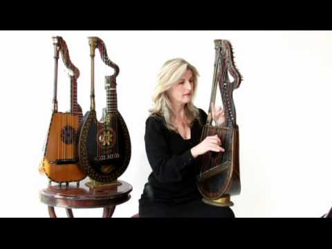Harp Lute, Dital Harp played by Sarah Deere-Jones
