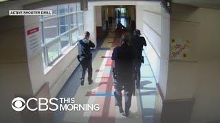 Inside a public school's active shooter drill