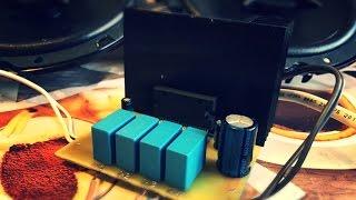 Четырёхканальный усилитель звука по 45 Ватт на микросхеме LA4743K