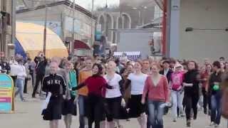 FLASHMOB on the market / Нереальный флешмоб на Центральном рынке г. Пермь