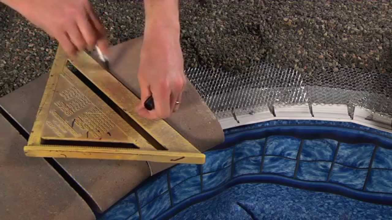Cambridge Pavingstones Bullnose And Coping Stones YouTube - Bullnose tiles for pools