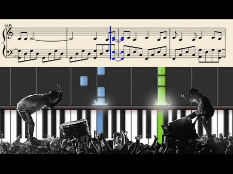 twenty one pilots: Trees Emotional Roadshow  Version  Piano Tutorial + SHEETS