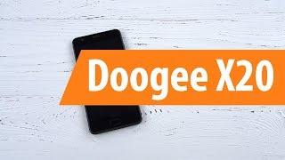 Розпакування Doogee X20 / Unboxing Doogee X20
