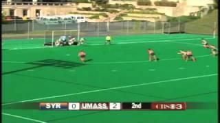 UMass Field Hockey Highlights From 2-0 Win Over #8 Syracuse