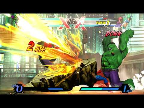 ULTIMATE MARVEL VS  CAPCOM 3 - |