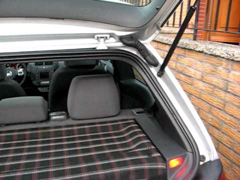 vw polo iv 9n 9n3 hutablage mit gti stoff. Black Bedroom Furniture Sets. Home Design Ideas