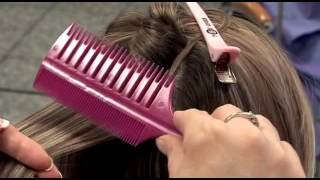 How to use the Smart Weave comb