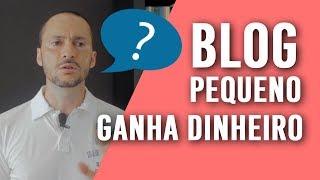 ❓ Blog pequeno consegue GANHAR DINHEIRO ❓