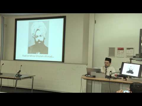 """AMSA: """"Arabic - the Mother of All Languages?"""" with Maulana Jahangeer Khan and Hani Taher, UCL"""