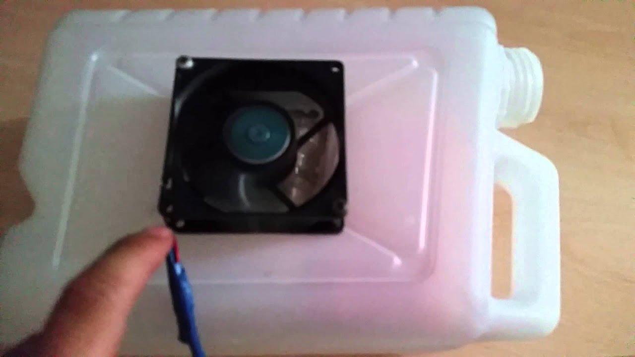 Condizionatore fai da te youtube for Filtro acquario fai da te
