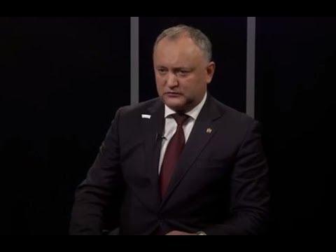 """Igor Dodon: """"Nu am avut discuţii cu Vladimir Plahotniuc."""""""