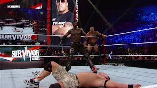 The Rock & John Cena vs. The Miz & R-Truth: Survivor Series 2011