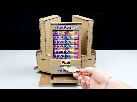 Thumbnail: Wow! Amazing DIY Vending Machine with 3 Different Taste Mentos at Home